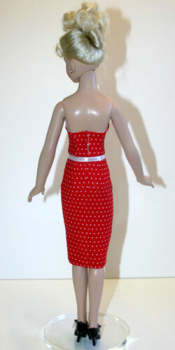 """Rockabilly Doll Clothes Sewing Pattern for 18/"""" Kitty Collier Dolls Tonner"""