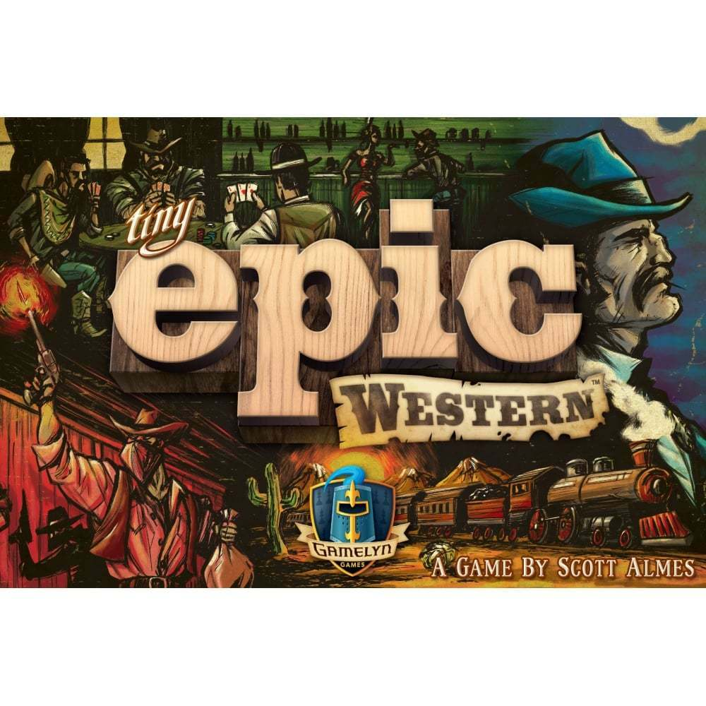 TABLETOP TABLETOP TABLETOP GAME  Tiny Epic Western 112153