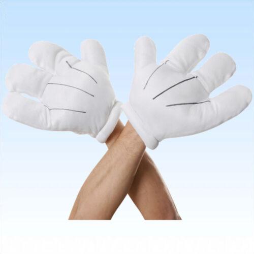 Hände Cartoon Figur Zeichentrickfigur Bekleidung Comic Fasching Kostüm Handschuh