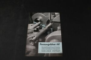 Age Print Passungslehre Hk Measuring Device Rooster & Kolb Advertising Collector