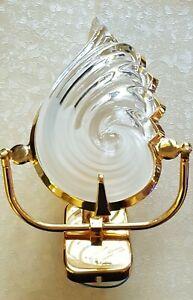 2019 Nouveau Style Ancienne Lampe Applique Coquillage Design Verre Dépoli / Sconce Shell