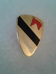 Authentic-US-Army-1st-Cavalry-Regimental-Combat-Team-RCT-1-Insignia-DUI-DI-Crest