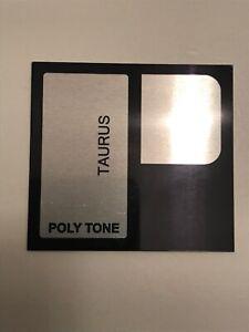 🎛 polytone taurus - emblem logo  - baby brute