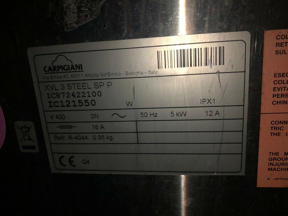 Carpigiani XVL 3 P/SP softicemaskine