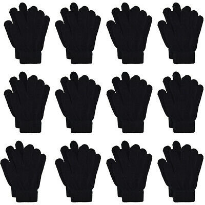ONE SIZE FITS ALL 12 PAIRS OF MAGIC GLOVES