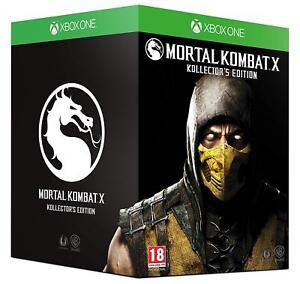 Mortal-Kombat-X-Kollector-039-s-Edition-Microsoft-Xbox-One-Game-New-amp-Sealed