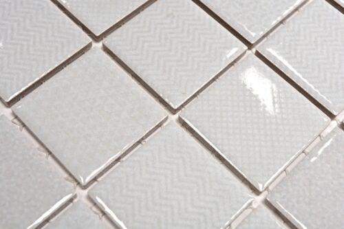 Mosaïque Carreau céramique vert clair carré céladon Heritage Comme neuf wb16-0205