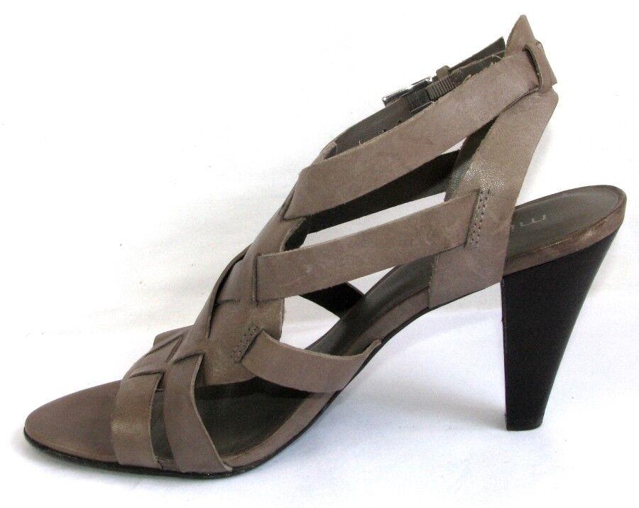 MINELLI MINELLI MINELLI Sandales talons 9 cm tout cuir taupe 40 EXCELLENT ETAT dffe96