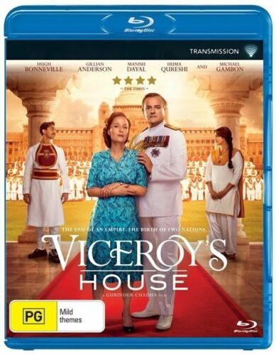 1 of 1 - Viceroy's House (Blu-ray, 2017) r 4 NEW SEALED FREE POST HUGH BONNEVILLE