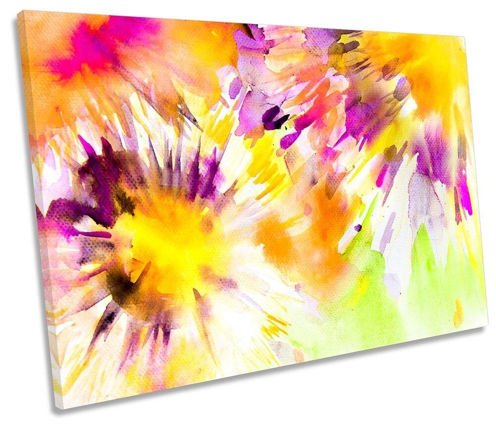 Acquerello Fiori floreale floreale floreale Singolo a Muro opera d'arte art print f03575