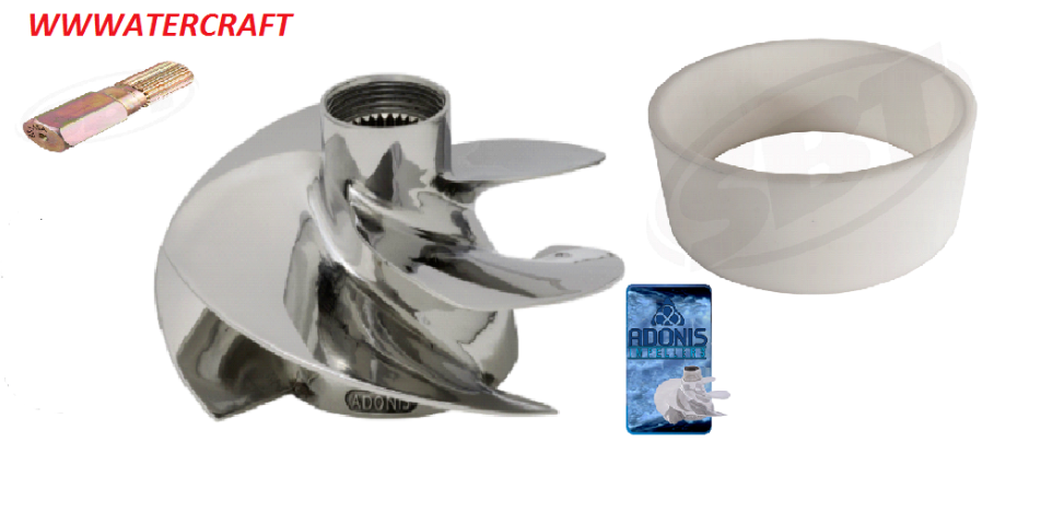 Seadoo 2000 Rx Rx Rx Di Adonis 15 20 Hoch Leistungs Laufrad Wear Ring Gratis Tool 080909