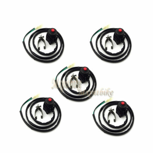 5x Kill Off Switch For Thumpstar SSR YCF PitsterPro XRF XR50 Chinese Pit Bike