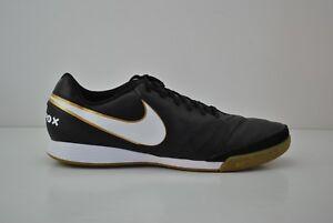 sale retailer db43e cbb5c Image is loading Mens-Nike-Tiempox-Genio-II-Leather-IC-Soccer-