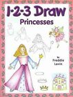 1-2-3 Draw Princesses by Freddie Levin (Paperback / softback)