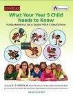 What your year 5 child needs to know: Fundamentals of a good year 5 education by E. D. Hirsch (Paperback, 2013)