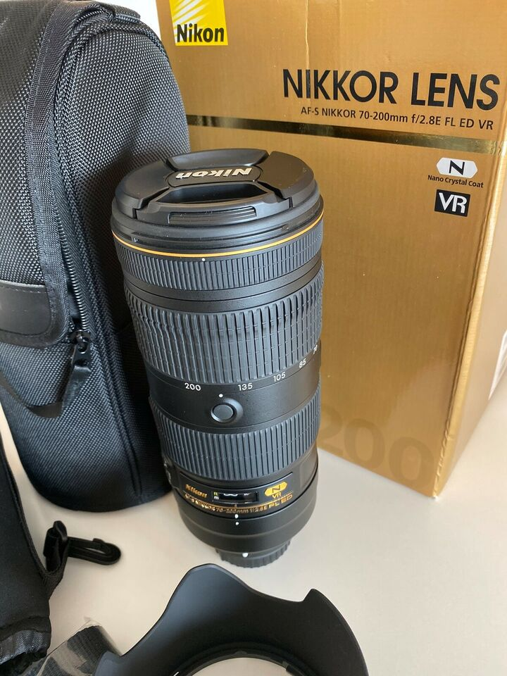 Zoomobjektiv, Nikon, AF-S NIKKOR 70-200mm f/2.8E FL ED VR