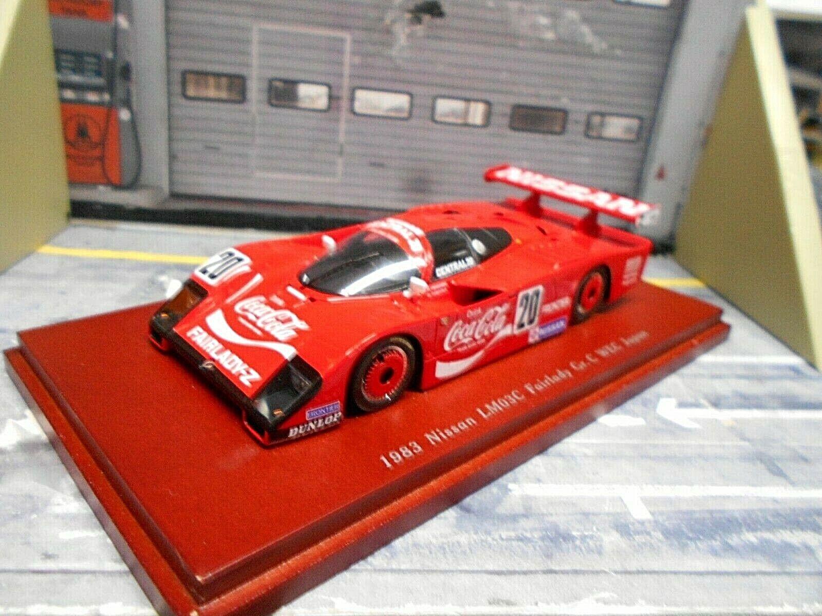 NISSAN LM03C Gr.C Fairlady Z Gr.C 1983 WEC Japan  20 Coca Cola TSM 1 43