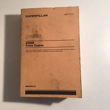 Caterpillar Parts 3406b Truck Engine Manual 4mg3600 Up Sebp1755 01