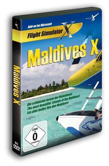 Maldives X - The Malé Atolls Fsx