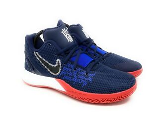 Nike-Kyrie-Irving-Flytrap-II-USA-Obsidian-Navy-Red-White-Size-11-5-AO4436-401