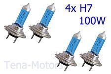 4x H7 499 Fari Fanale Alogene Nebbia Lampadina 5500K XENON HID BIANCO 12V 100W