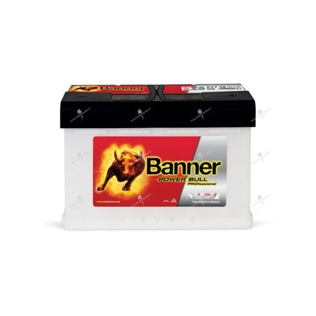 Autobatterie Banner Power Bull Pro P7740 12V 77AH 680A 278X175X190