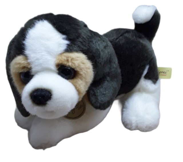 "New AURORA MIYONI Soft Stuffed Plush Toy BOXER Puppy Dog Brown 11/"""