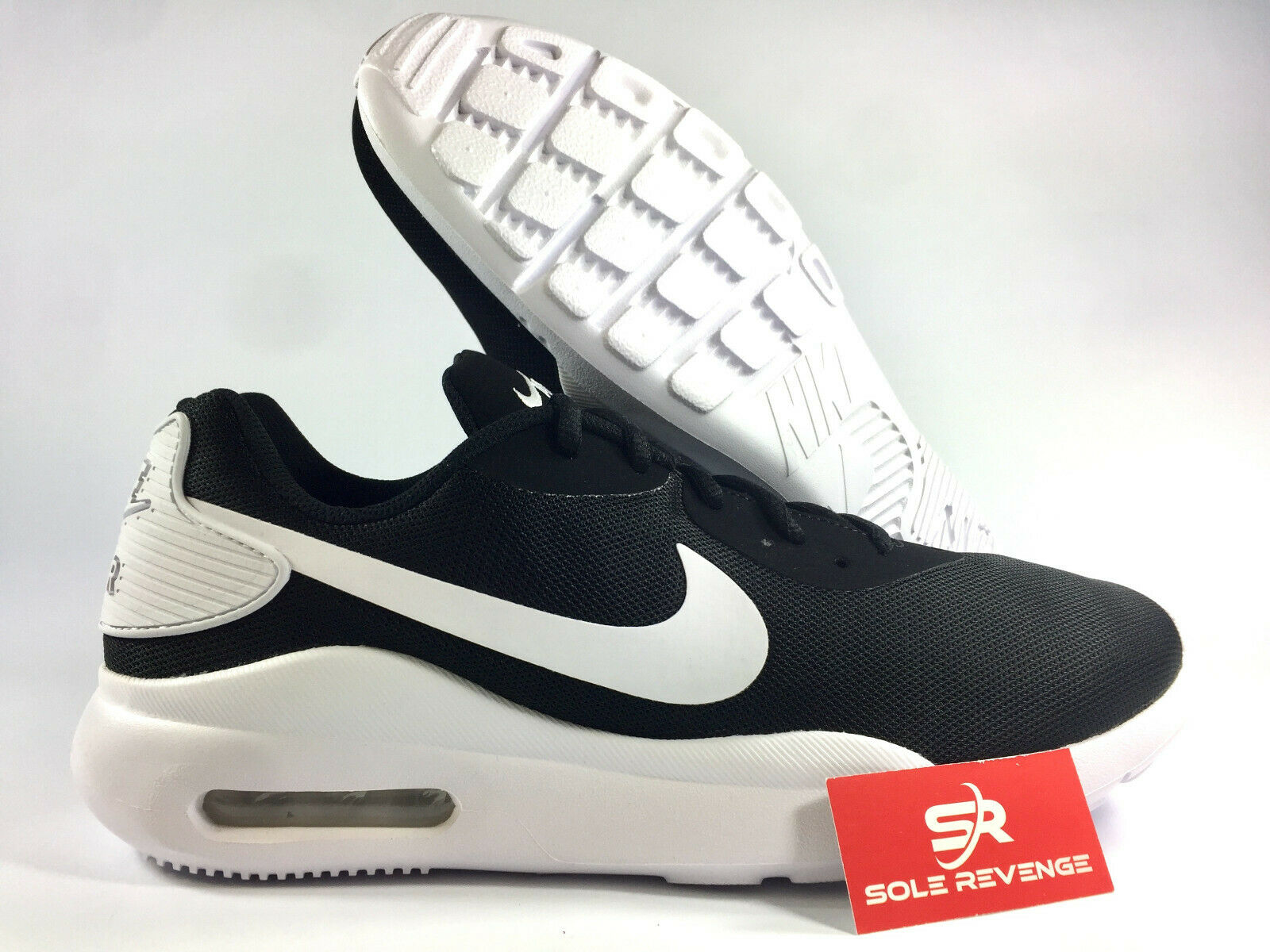 reputable site 17ada ed140 New Nike Air Max OKETO shoes shoes shoes Mens Black White Mens Running shoes  90 1 18bef7