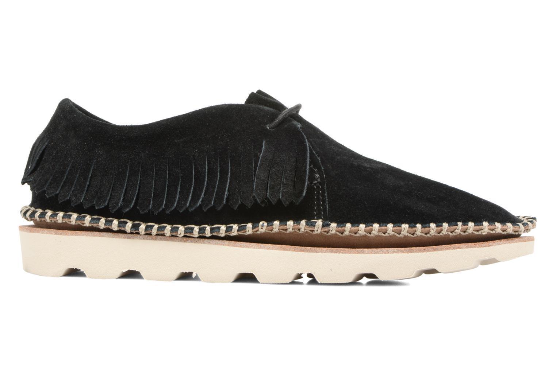 Mujer Con Clarks Damara Thrill Zapatos Con Mujer Cordones Negro 320c78