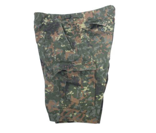 BW FLECKTARN SHORTS PREWASH BERMUDA KURZE HOSE ARMY COMBAT CARGO OUTDOOR NATO