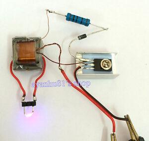DC-Hochspannung-HV-Generator-Inverter-elektrische-Zuender-DIY-Kit-fuer-18650-Akku