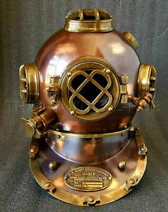 Antique Helmet For Gift US Navy Mark v Diving Helmet Deep Sea Divers Helmet Gift
