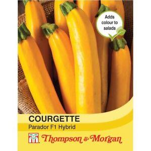 Thompson & Morgan-légumes-courgette Parador - 5 Graines-afficher Le Titre D'origine