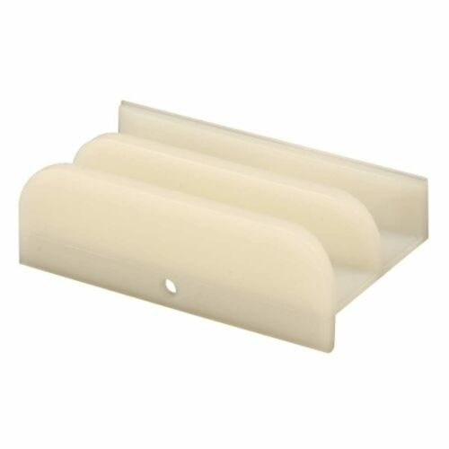 """Line Products M 6219 Sliding Shower Door Bottom Guide For 7//16/"""" Thick Doors"""