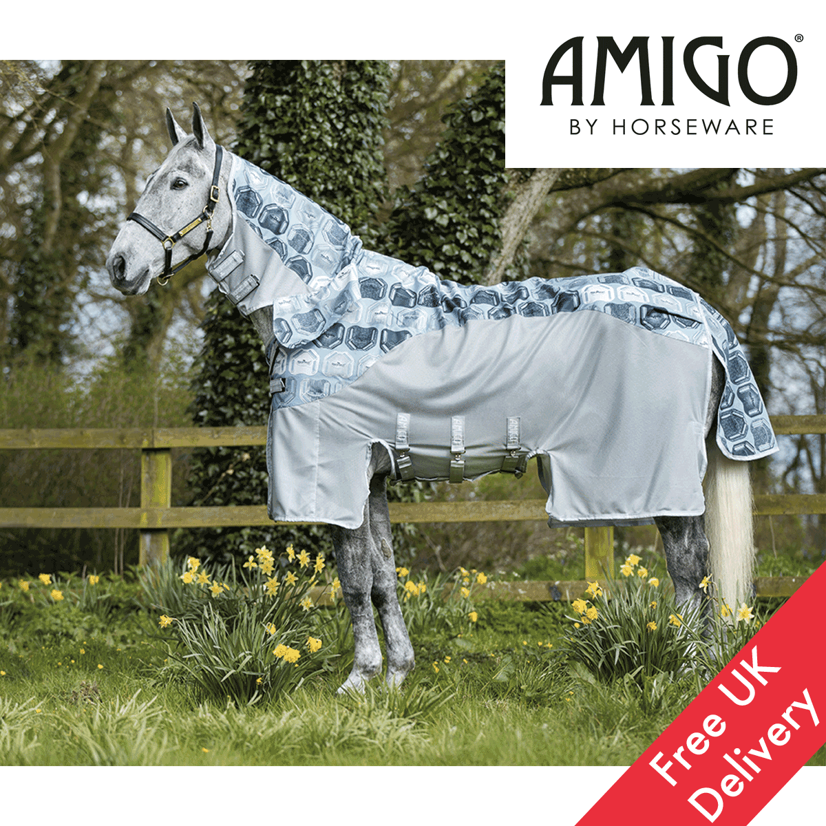 Horseware Amigo Three In One Vamoose Fliegen Turnout Rug FREE UK Shipping