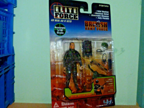 BLUE BOX BBi ELITE FORCE 1:18 BRITISH ARMY FORCE REAR GUARD /& EQUIPMENT 21331