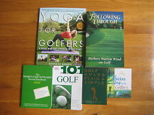 GOLF LOT OF 6 Worst Case Scenario Yoga Chicken Soup Rules Plain & Simple russell