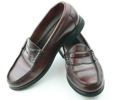 Rockport Burgundy Leather Penny Loafers Size 7M Style M ...