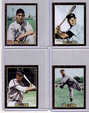 Lot of 4: Mantle/Babe Ruth/Stan Musial/Ted Williams Ultimate Card Collection