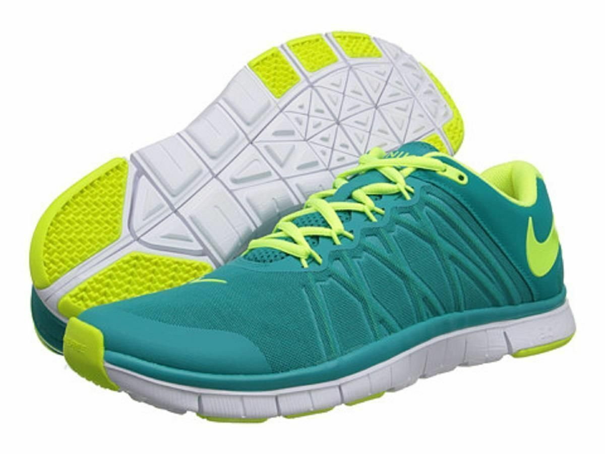 Men Nike Free Trainer 3.0 630856 371 Green Yellow White 100% Authentic Brand New