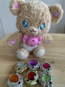 Bandai-Maho-Girls-PreCure-Mofurun-Talking-Plush-Doll-Linkle-Stone-Set
