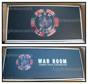 WAR-ROOM-BOARD-GAME-w-JUMBO-PACK-EXPANSION-By-Larry-Harris-of-Axis-amp-Allies-A-amp-A