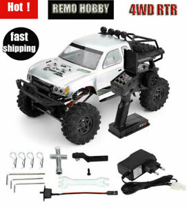 Remo-1093-1-10-RC-Car-4WD-Electric-2-4G-Double-Steering-Crawler-Buggy-Truck