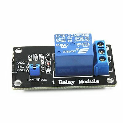 5PCS Arduino 5V  One Channel Relay Module Isolated Coupling PIC AVR DSP ARM