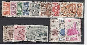 BELGIUM -- (38) COMPLETE SETS -- (3) DIFFERENT -- USED