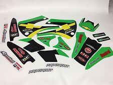 NEW Team Pro Circuit Chevy Trucks Kawasaki KX80 KX85 KX100 01-2012 Graphics Kit
