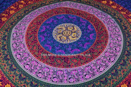 Indian Mandala Duvet Cover Queen Size Quilt Cover Handmade Bedding Blanket Cover