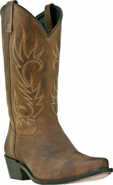 "Men's Laredo ""Willow Creek"" Tan Snip Toe Western Cowboy Boot 68424"