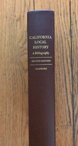 California-Local-History-A-Bibliography-Stanford-University-Press-HC-Book