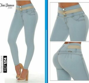 Jeans colombianos butt lifter fajas colombianas jeans levanta cola pompi 1489